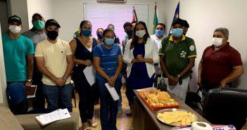 Prefeita Majorri Santiago tem reunião estratégica para o combate ao COVID-19